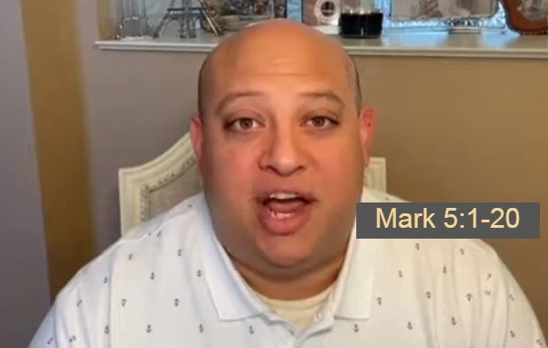 A Deeper Look At Mark 5, 1-20 , Jesus Encounters The Demon Possessed Man