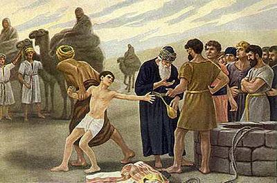 Genesis 37:1-11 joseph sold into slavery