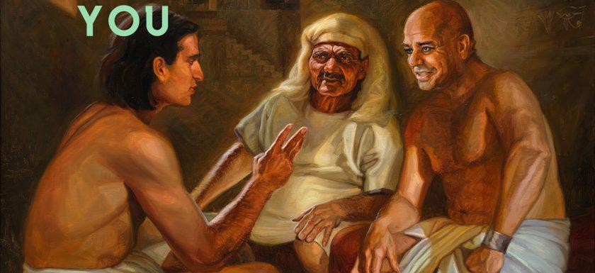 Joseph comforts others genesis 40_4-7
