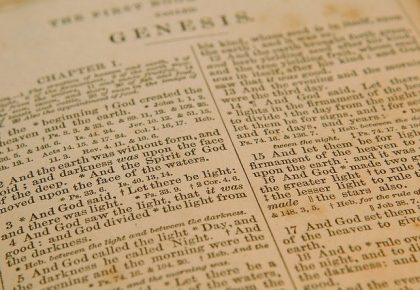 there is no good news without the backdrop of the bad news Genesis 42:`1-2